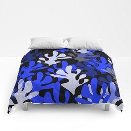 In Blue Comforters