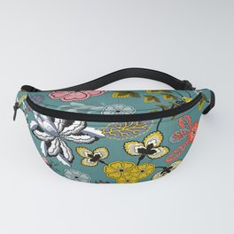 Boho Indienne (Peacock) Fanny Pack