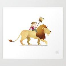 Wild Adventure - Lion Art Print