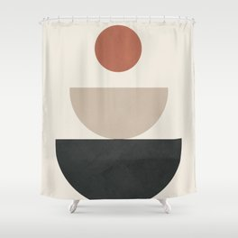 Geometric Modern Art 30 Shower Curtain