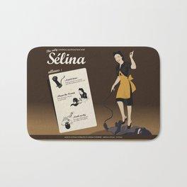 Sélina (english version) Bath Mat