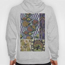trendy vintage floral pattern Hoody
