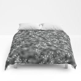 silver berries Comforters