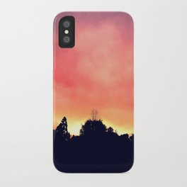 Smokey Sunset iPhone Case