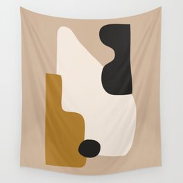 abstract minimal 16 Wall Tapestry