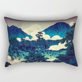 Under the Rain in Doyi Rectangular Pillow