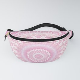 Frosted Pink Mandala Fanny Pack