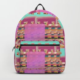Candy Plaid Backpack
