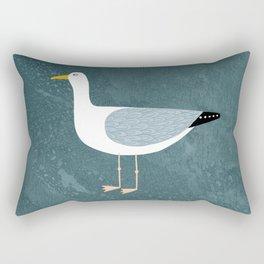 Seagull Standing Rectangular Pillow