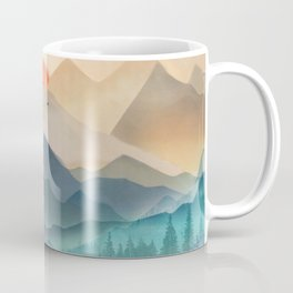 Wilderness Becomes Alive at Night Coffee Mug