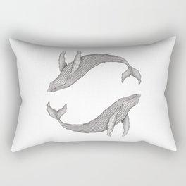 Megaptera Novaeangliae [Ted] II Rectangular Pillow