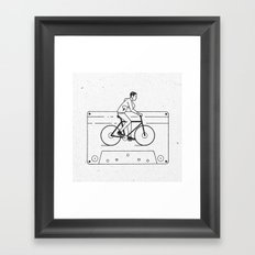 Welcome to Your Tape (Alternate Version) Framed Art Print
