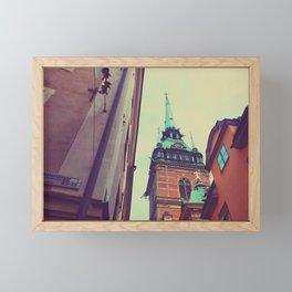 Stockholm 3 Framed Mini Art Print