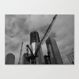 10 Years Later, Still Here Canvas Print