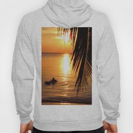Island sunset relaxation Hoody