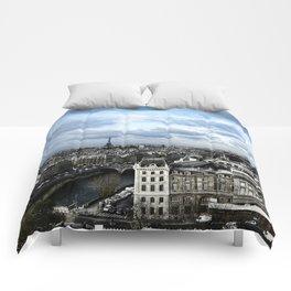Vue de Notre Dame - Paris Comforters