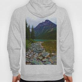 Cavell Lake in Jasper National Park, Canada Hoody