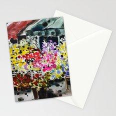 Flower market Stationery Cards