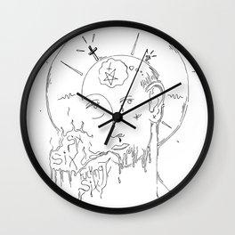 Sixes II Wall Clock