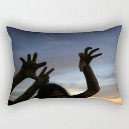 monster shadow twighlight Rectangular Pillow