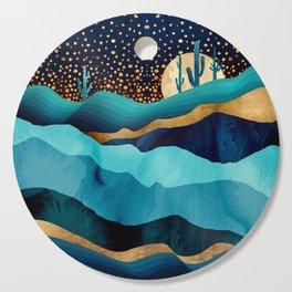 Indigo Desert Night Cutting Board