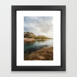 Honeymoon Bay Freycinet National Park | Tasmania Australia Nature Landscape Travel Photography Framed Art Print