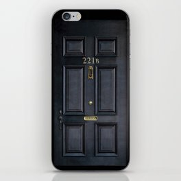 Classic Old sherlock holmes 221b door iPhone 4 4s 5 5c, ipod, ipad, tshirt, mugs and pillow case iPhone Skin