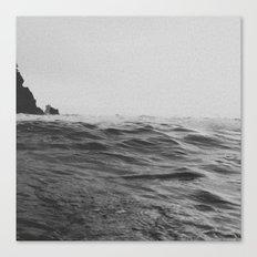 Darkness of Sea Canvas Print