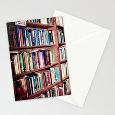 Library Shelves Stationery Cards