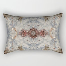 Transcending 2 (Mandala #1b) Rectangular Pillow