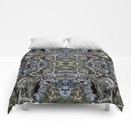 SUN-BLEACHED WINDSWEPT JUNIPER Comforters