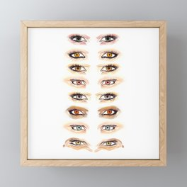 Vampire Eyes Framed Mini Art Print