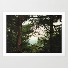 look through Art Print