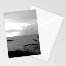 Landscape Print Black & White Beach Art Photogaph Stationery Cards