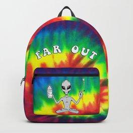 Far Out Alien (Tie Dye) Backpack