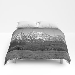 Ansel Adams - Grass Valley and Grand Tetons Comforters