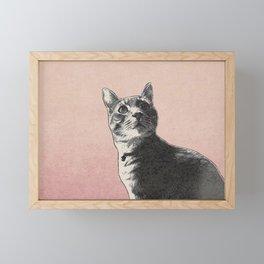 Pastel Franklin Framed Mini Art Print