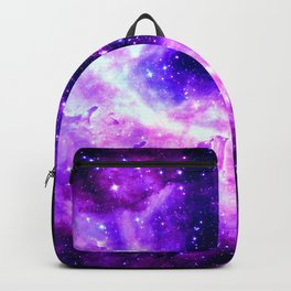 Purple Galaxy : Celestial Fireworks Backpack