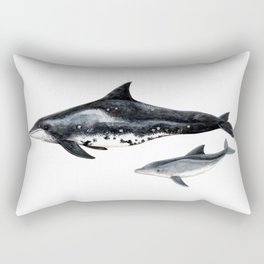 Rough-toothed dolphin (Steno bredanensis) Rectangular Pillow