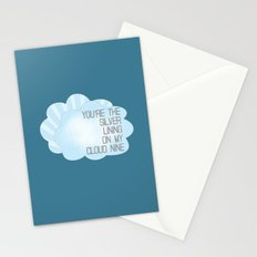 You're the Silver Lining on My Cloud Nine Stationery Cards