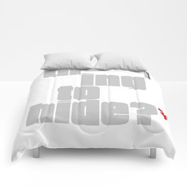 Nothing to Hide - Red Asterisk Comforters