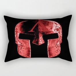 god's helmet Rectangular Pillow