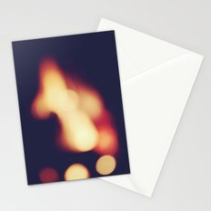 FIRE BLUR 2 Stationery Cards