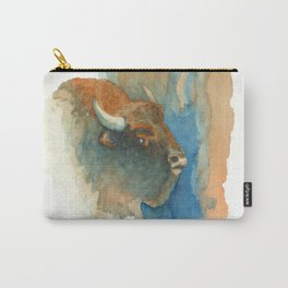Wary Bison Carry-All Pouch