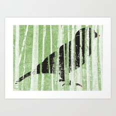 Forrest for the Bird Art Print