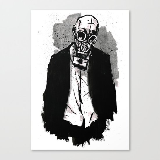 The Wolf Canvas Print