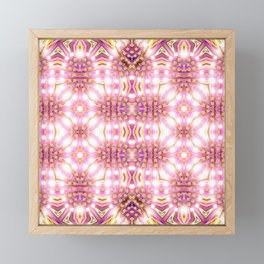 Pink Energy Glow #3 Framed Mini Art Print