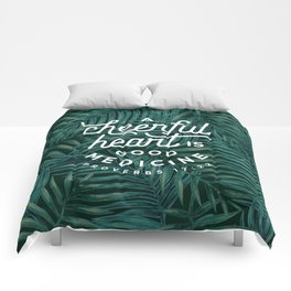 A Cheerful Heart Comforters