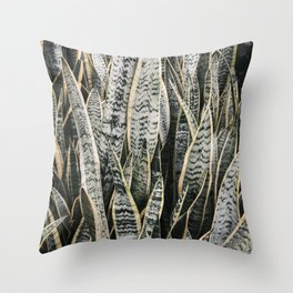 Plant Photography Tropical Exotic Plants Snake Tongue Beauty Wild Nature Throw Pillow