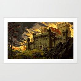 Dragon's Keep Art Print